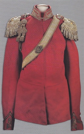 Grand Duke Nikolai Nikolaevich's Guards Cossack jacket